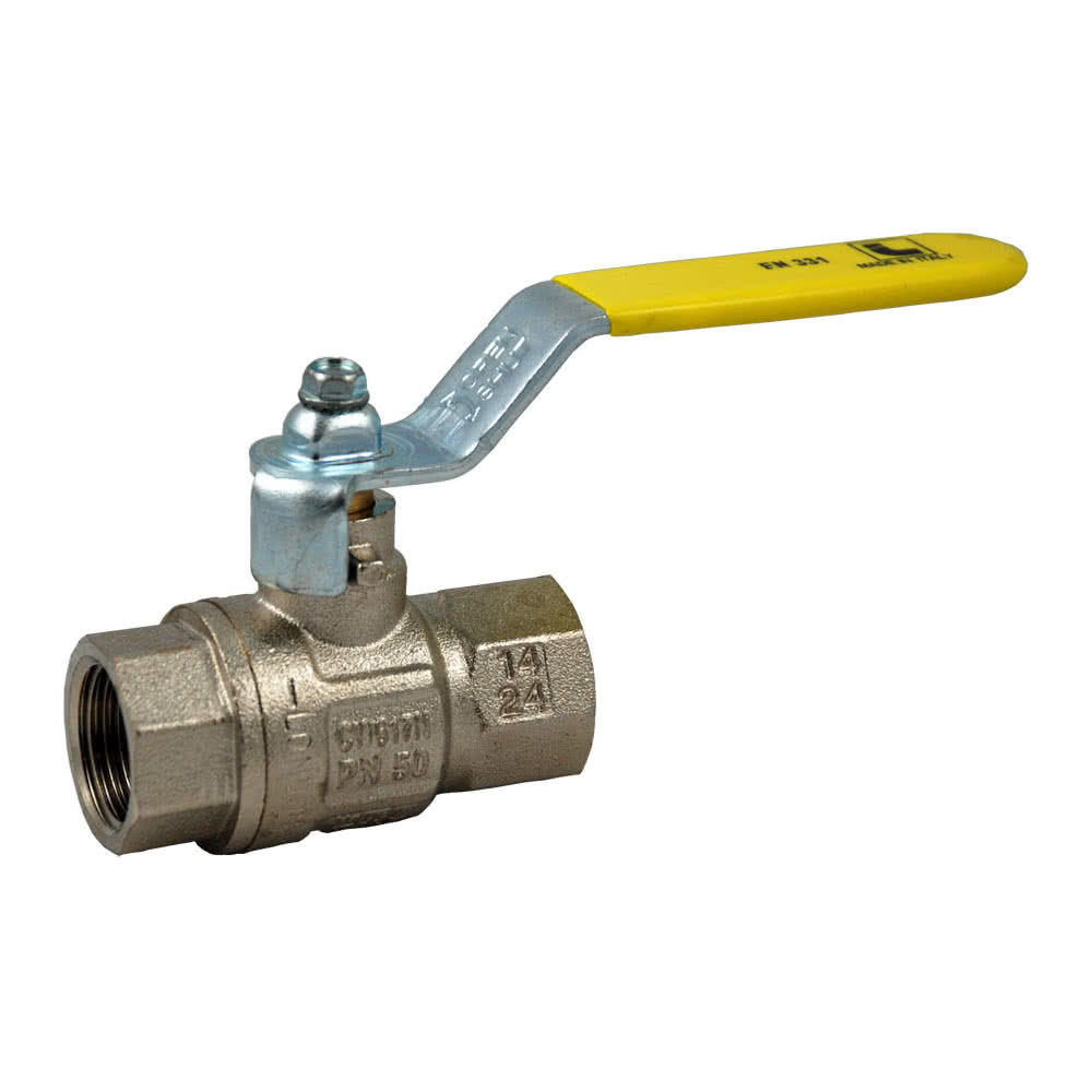 Ball valves for combustible gases, EN331 / DVGW approval