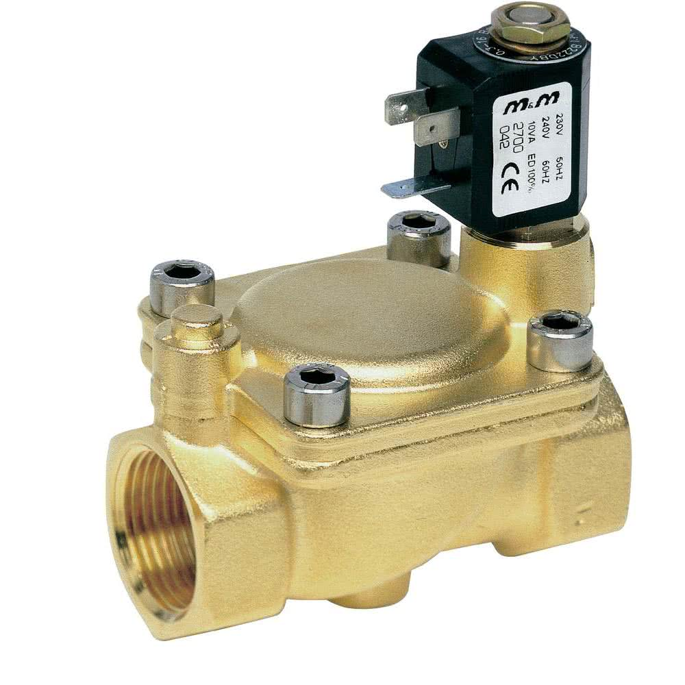 Water valves - Large flow solenoid valves