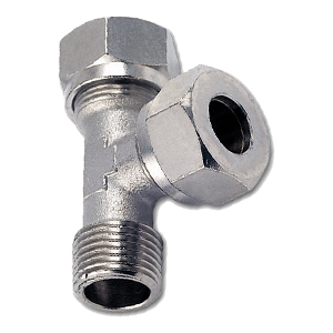 Compression fittings nickel-plated brass- fluid24.eu