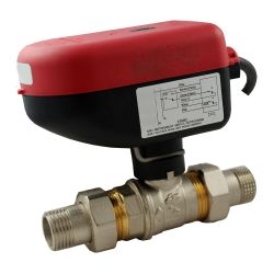 Ball valves electric
